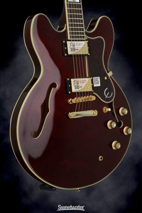 Epiphone Sheraton Wiring Diagram Use Case Vending Machine Ii Pro Wine Red Serial 1608204254 Guitars In