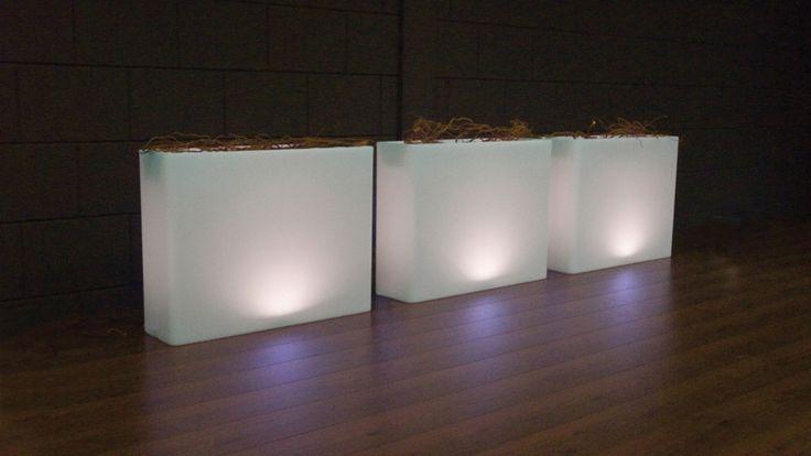 Bloembak Milano LED - Het Luxe Leven - Pimp up your Lifestyle!