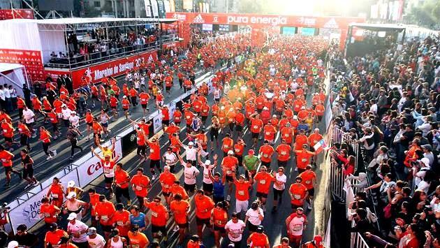 Santiago Chile, Marathon // DONE