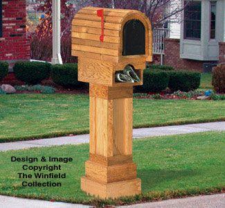 Cedar Mailbox Wood Project Pattern