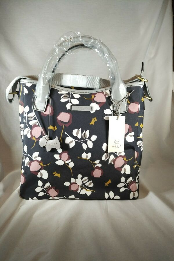 Brand New With Tags Radley Oilcloth Crossbody Bag Cs
