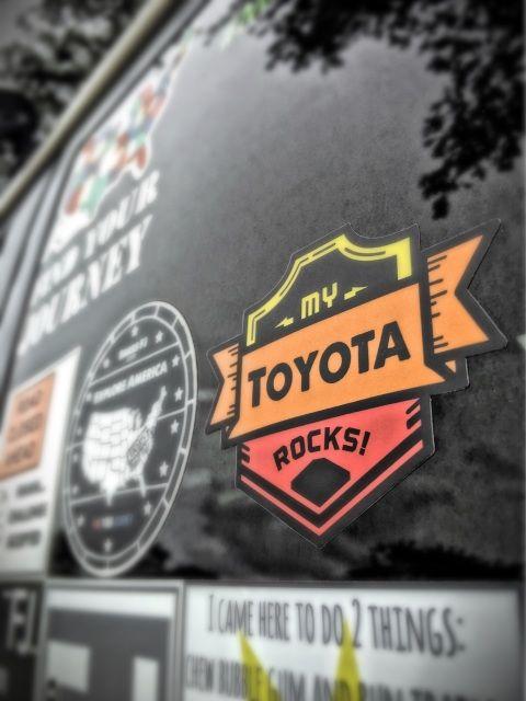My Toyota Rocks! sticker - bakesfj BakesFJ.com ,Toyota, Toyota FJ Cruiser, FJ Cruiser, Offroad, 4x4, awesomeness, the Cive, KCCO, Find your Journey, Explore America, My Toyota Rocks