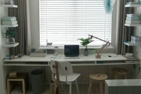 nice and functional desk | from Eigen Huis & Tuin