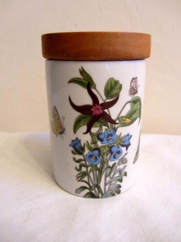 Delightful Vintage Portmeirion Botanic Garden Spice Jar. U20ac50.00, Via Etsy.