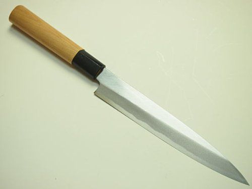Honmamon Sashimi Hocho Yanagiba Kitchen Knife 180mmabt 7inch For Right Hander