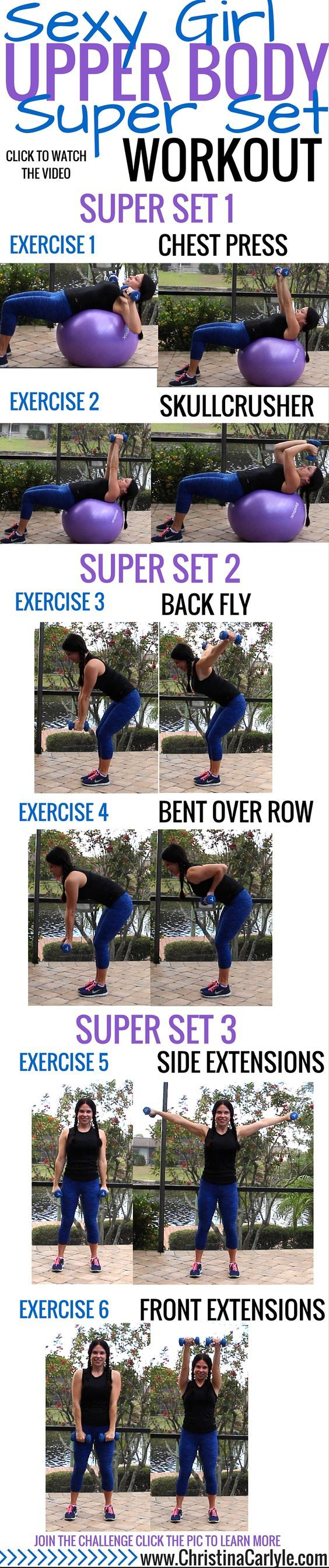 Upper Body Workout for Women: