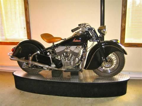 Indian Chief Vintage 1947 Motorcycle