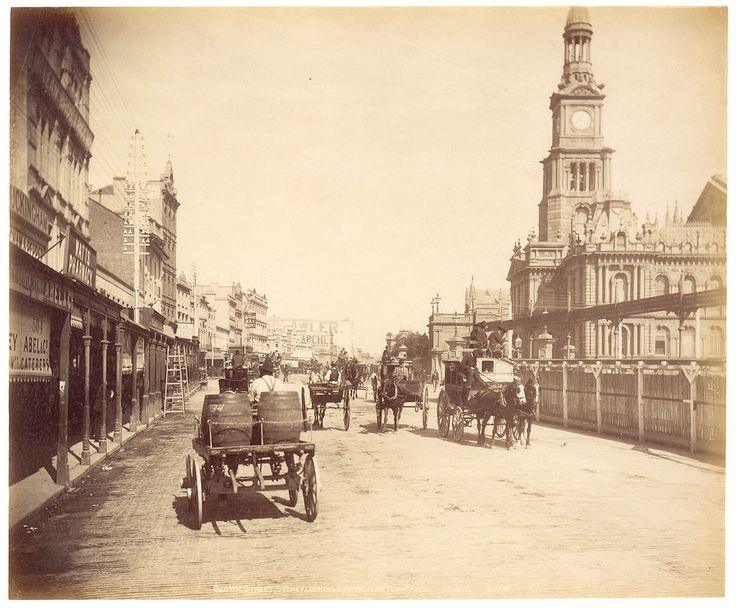 George St, Sydney from Fred Hardie - Photographs for George Washington Wilson & Co., 1892-1893 | by State Library of New South Wales collection