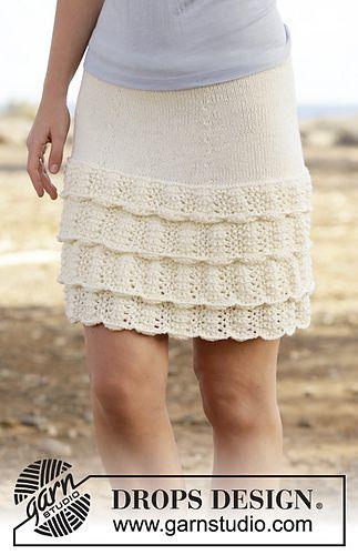 Summer Dance Skirt Knitting Pattern - FREE                                                                                                                                                                                 More