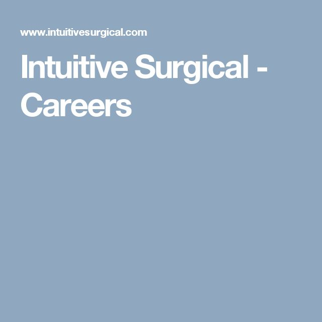 Intuitive Surgical - Careers