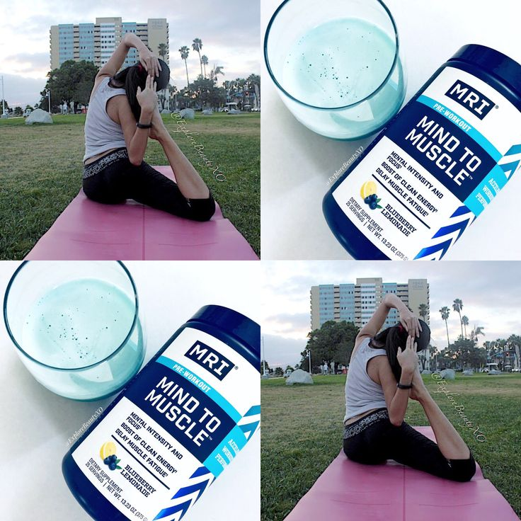"""Anna M on Twitter: """"What's your favorite workout? Mine is yoga 🧘🏻♀️ and this #preworkout #supplement by @MRIPerformance gives me the boost I need! #MindtoMuscle #TryNatural [#gotitfree via @SocialNature 