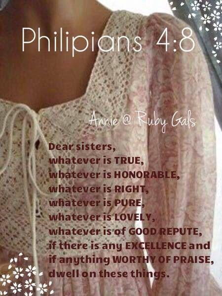 ❤️️️Bible verses ~ Philippians 4:8