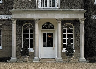 French Provincial Exterior Portico Google Search