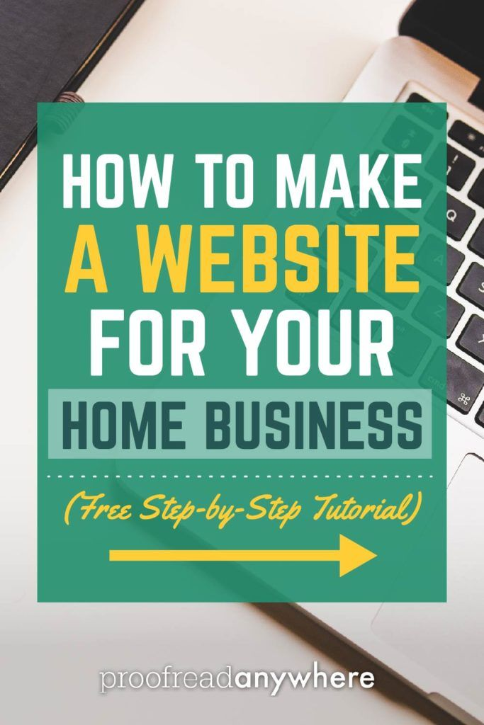 Free home business website startup guide