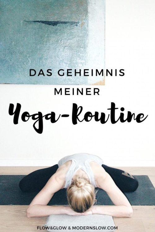 Der Alltag überrollt uns und die Yoga-Routine fällt aus. Wie kannst Du es schaffen, Deine Yoga-Routine zu einem festen Bestandteil zu machen? #gewohnheitenändern #yoga   modernslow.com