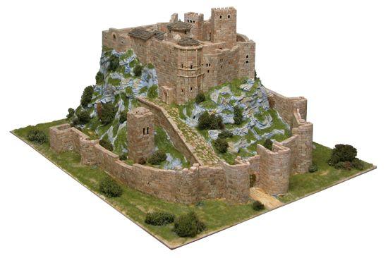 Maquetas de castillos antiguos para construir con 8600 piezas a escala 1/200 Ars_1007