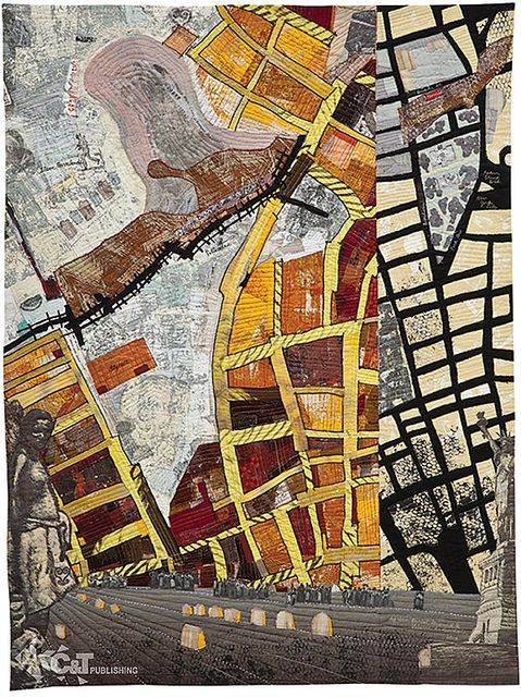 Art Quilt Maps by C&T Publishing, via Flickr