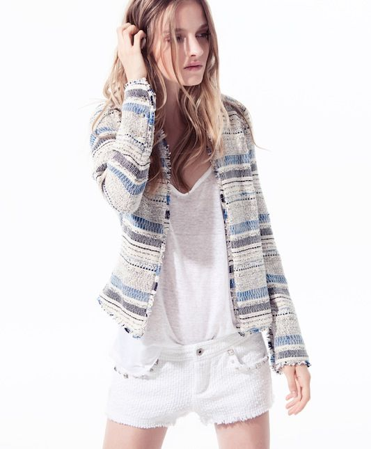 from Zara: Outfits, Fashion, You Trf, Style, Trf Lookbook, Jackets, Studs Blazers, Looks Books, 2012 Lookbook
