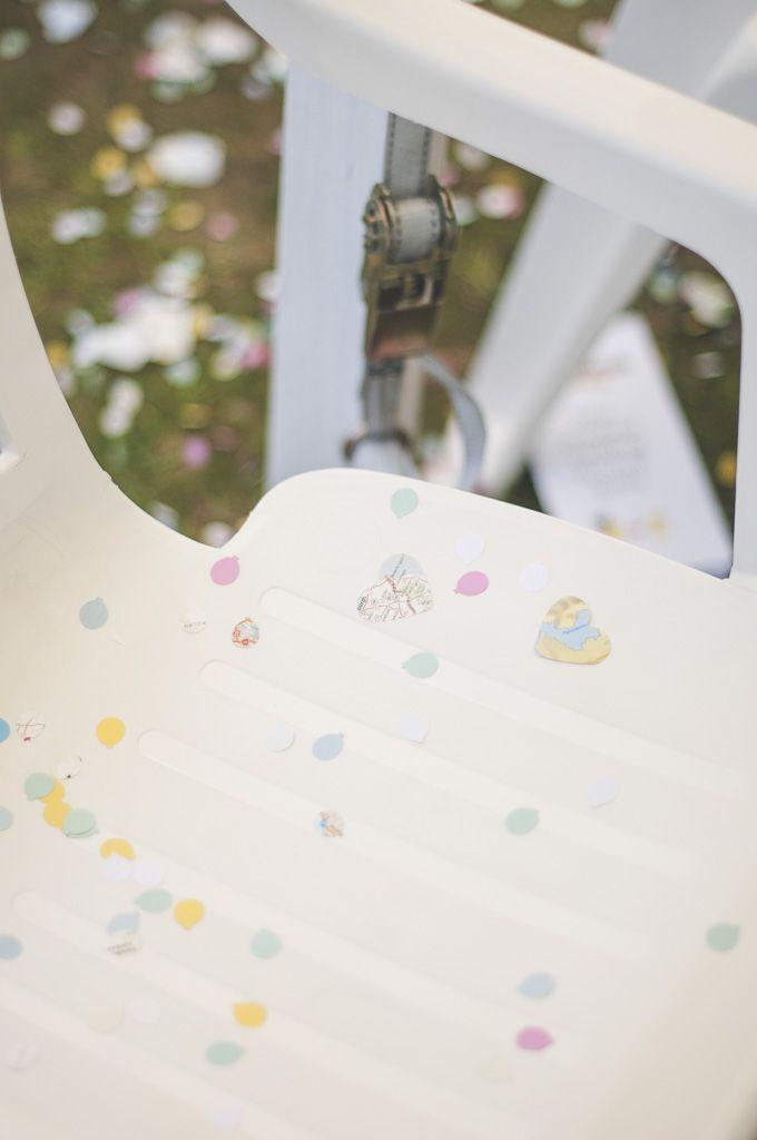 Home-made confetti
