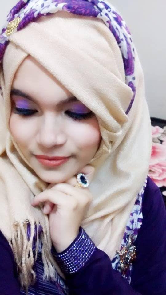 Party hijab tutorial with full front & back coverage ||Farzana Alin||