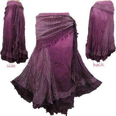 I think I want one of these BOHO/HIPPY/GYPSY Crochet Tie Waist Shade Skirt