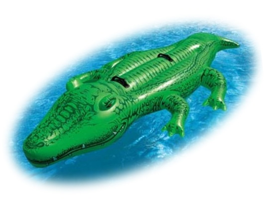 Jungle Party Inflatable Alligators In The Pool Go
