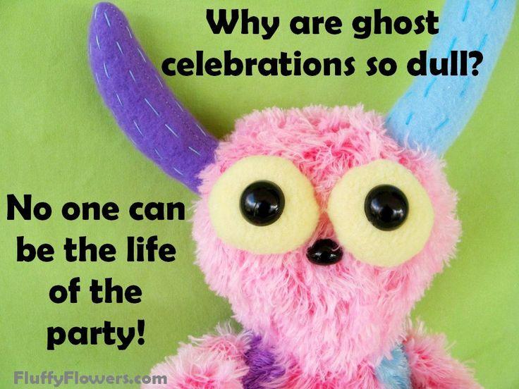 cute & clean Halloween kids joke for children featuring an adorable monster :)