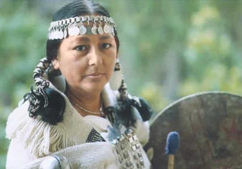 Mapuche woman.Chile.