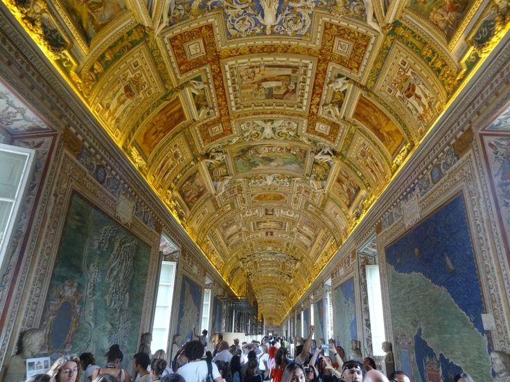 Sala delle carte geografiche - Musei Vaticani