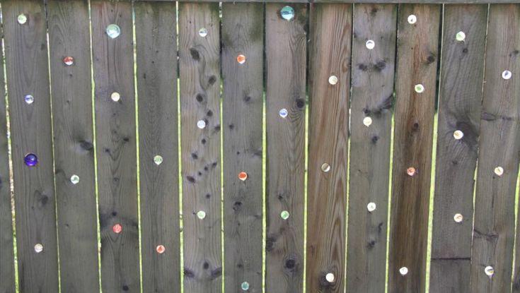 Create A Marble Fence