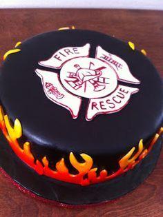 firefighter cake more firefighter wedding cakes cakes firefighter ...