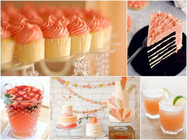 ,Hgtv Design, Chocolates Cake, Coral Colors, Wedding Colors, Cupcakes Chocolates, Bridal Shower, Parties Ideas, Blog Design, Design Blog