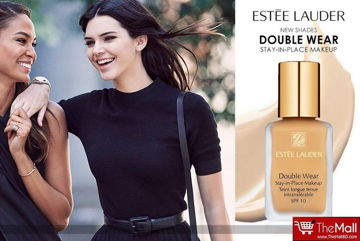 ESTEE LAUDER Double Wear Foundation. Shades : Cool Vanilla, Ivory Nude, Ivory Rose.  Price - 4,480 Tk. EACH  - Long-wearing makeup with 15-hour staying power. - Looks flawless and natural. Lasts through heat, humidity, non-stop activity.  Buy Authentic products from - www.TheMallBD.com To Order Now, Call: 01977300901, 01977300902