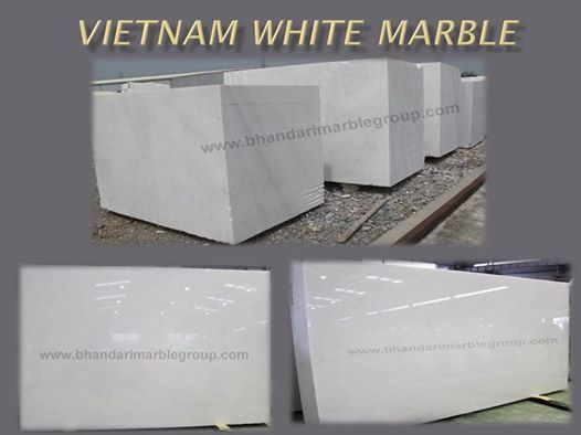 Vietnam White Marble  Vietnam White Marble it also known as world whitest stone of world. It is also calcite stone like Makrana Marble from Which Taj Mahal was built.Vietnam White Marble is the finest and superior quality of Imported Marble. We deal in Italian marble, Italian marble tiles, Italian floor designs, Italian marble flooring, Italian marble images, India, Italian marble prices, Italian marble statues, Italian marble suppliers, Italian marble stones etc.