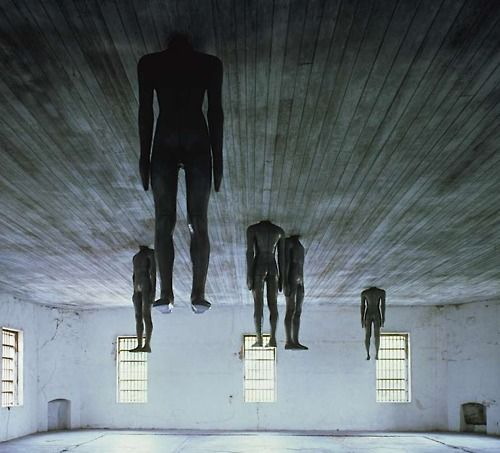 Learning to Think by Antony Gormley