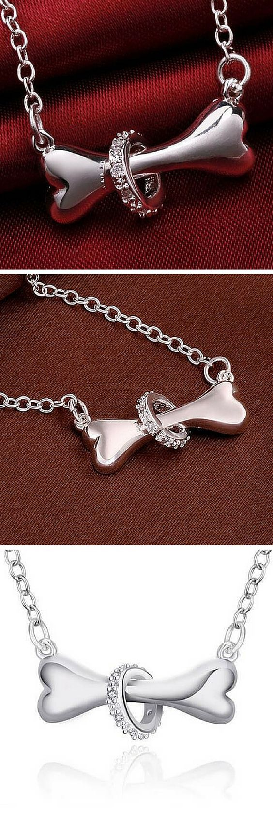 Love Dogs? Then this is Dog bone necklace is for you. Get yours now at 50% off! Today only!
