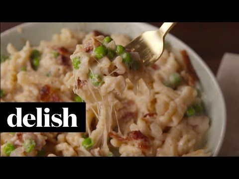 Carbonara Mac & Cheese - Best One-Pan Pasta Dinners - Delish.com