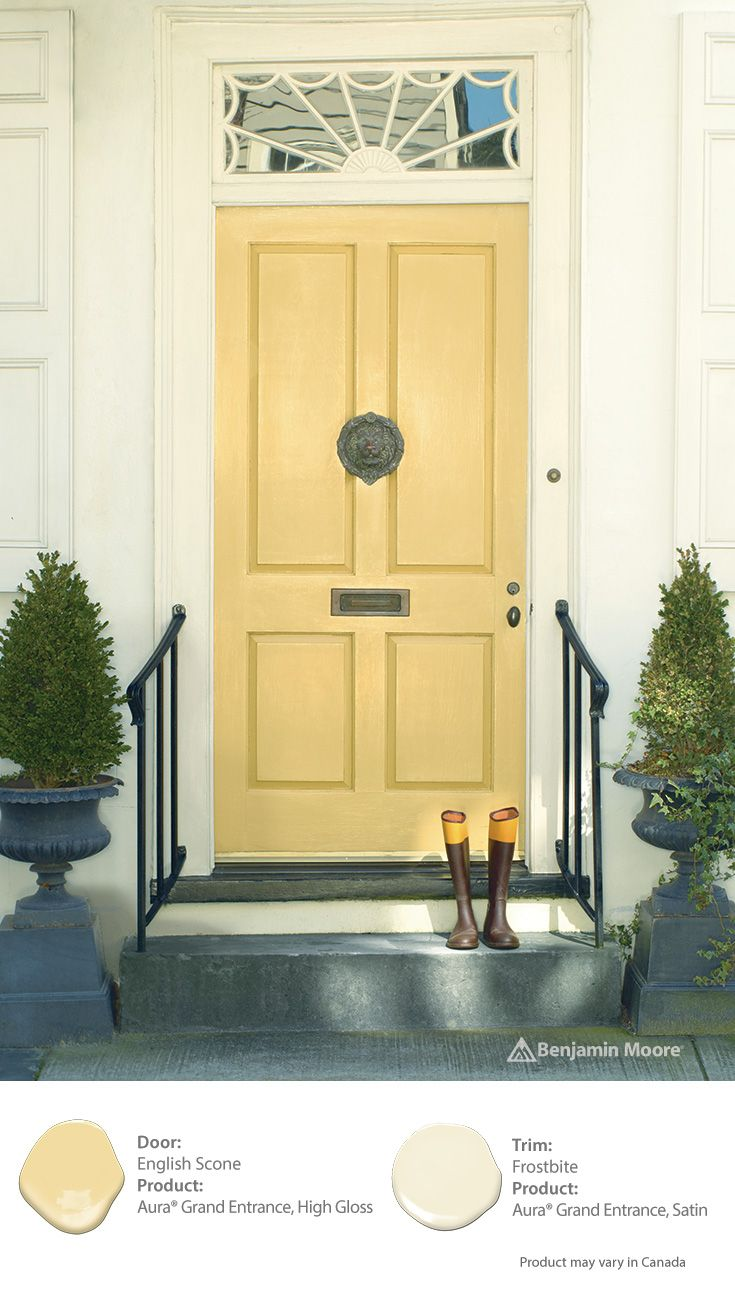 Doors 10 handpicked ideas to discover in diy and crafts for Front door yellow paint