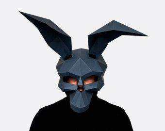 Polygonic Frank The Bunny, Donnie Darko mask