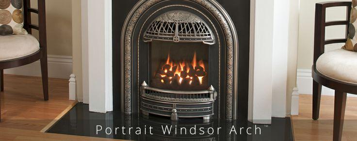 Valor windsor arch fireplace showroom valor fireplaces