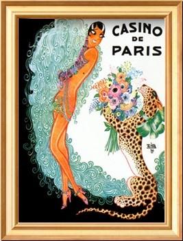 Josephine Baker: Casino De Paris Print by Zig (Louis Gaudin)