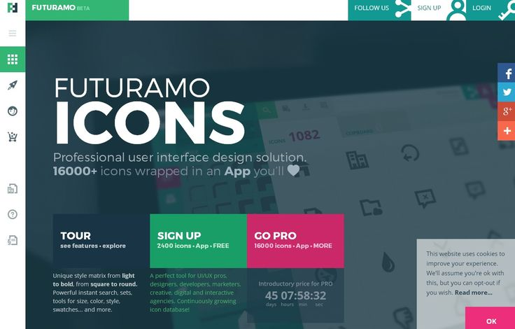 Web Design Inspiration – Sites of The Day #45 (Futuramo, two5six and more)
