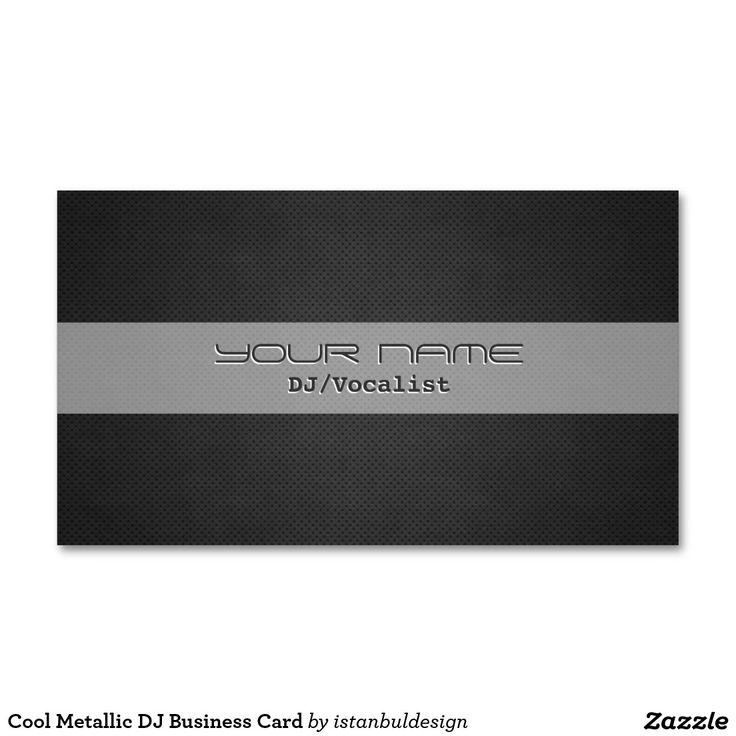 Amazing Cool Dj Business Cards Gallery - Business Card Ideas ...