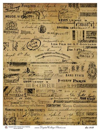 Antique French Ephemera | 11 vintage french ephemera previous in ephemera next in ephemera
