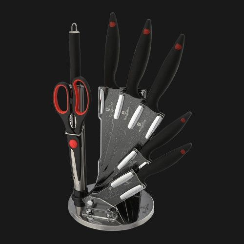 Berlinger Haus - 8 pcs knife set on stand, Stone Touch Line – Dynamex LifeStyle