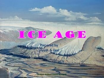 This power point presentation focuses on ICEAGE for elementary students as well as teachers. The students will be able to understand meaning of it and the basics about the ICEAGE with a prime focus on various aspects of it. The following points are discussed in a given module.  What is an Ice-age?  •Five Major Ice Ages  •Huronian  •Cryogenian  •Andean-Saharan  •Karoo  •Quanternary  •Causes of Ice Age