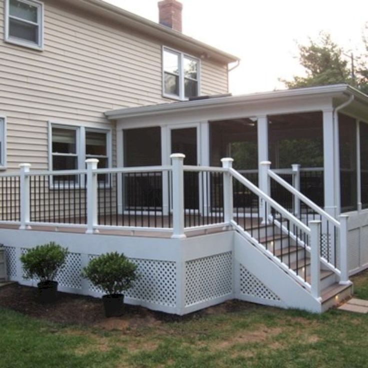 8 Ways To Have More Appealing Screened Porch Deck – Catherine Otto