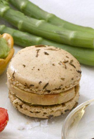 C'est bon, les macarons au Foie Gras !!! #foiegras #recette #cuisine