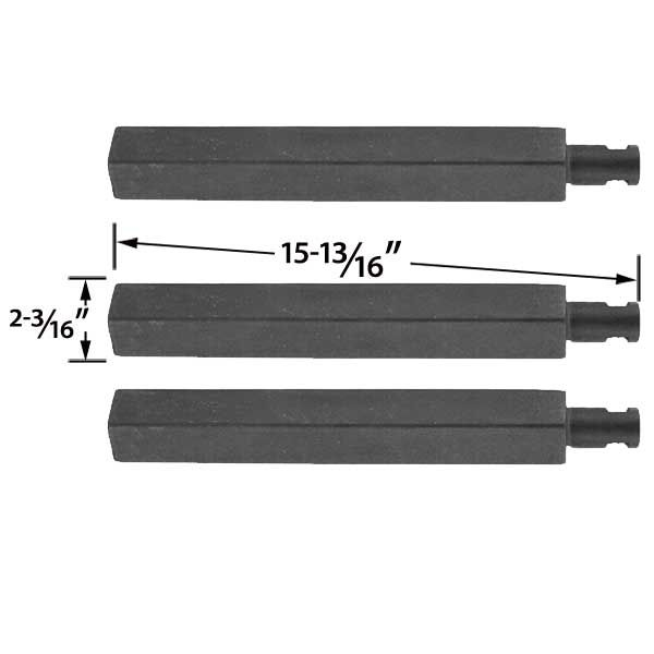 3 PACK REPLACEMENT CAST-IRON GRILL BURNER FOR GLEN CANYON, CHARBROIL, JENN-AIR, NEXGRILL, VIRCO 720-0032 AND THERMOS 461252705 GAS GRILL MODELS  Fits Glen Canyon : 720-0026, 720-0104, 720-0145, 720-0152, 720-0104-NG, 720-0152-NG  BUY NOW @ http://grillrepairparts.com/shop/grill-parts/3-pack-replacement-cast-iron-grill-burner-for-charbroil-glen-canyon-jenn-air-nexgrill-virco-720-0032-and-thermos-461252705-gas-models/