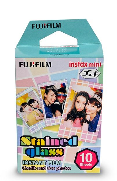 Instax Mini Film 10pk Stained Glass #instaxwishlist